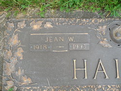 Jean W. <i>Wagner</i> Haines