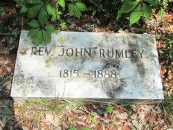 Rev John Rumley