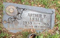 Arthur Phillip Leslie