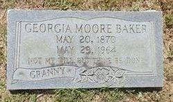 Georgia <i>Moore</i> Baker