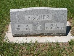 Hulda Rosina <i>Redlinger</i> Fischer