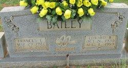 Frances E. <i>Bratcher</i> Bailey