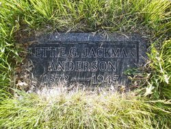 Lettie Grace <i>Jackman</i> Anderson