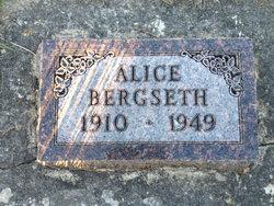 Alice Pauline Bergseth