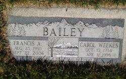 Carol <i>Weekes</i> Bailey