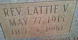 Rev Lattie V. Henderson