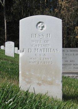 Bess <i>Hepler</i> Mathias