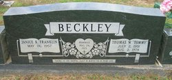 Janice K <i>Franklin</i> Beckley
