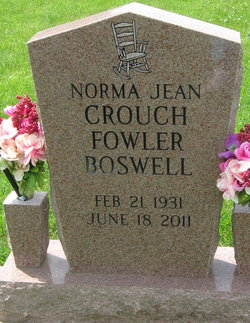 Norma Jean <i>Crouch</i> Boswell
