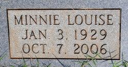 Minnie Louise <i>Breeden</i> Allen