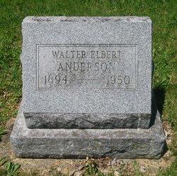 Walter Elbert Anderson