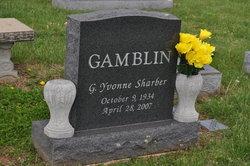 Gloral Yvonne <i>Sharber</i> Gamblin