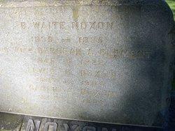 Lewis C Noxon