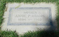 Annie P. Adams