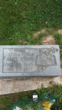 Lydia H <i>Beckett</i> Anderson