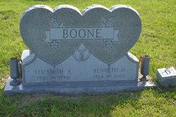 Elizabeth A. Betty <i>Johnson</i> Boone