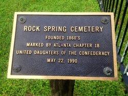 Rock Spring Presbyterian Church Cemetery