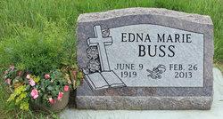 Edna Marie <i>Carlson</i> Buss