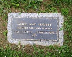 Alice Mae <i>Baldwin</i> Presley