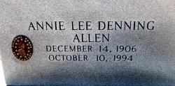 Annie Lee <i>Denning</i> Allen