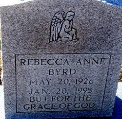 Rebecca Ann <i>Stephenson</i> Byrd