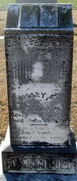 Mary Frances <i>Wood</i> Denning
