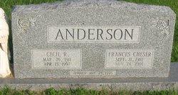 Cecil R Anderson