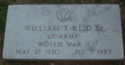 William Texas Bill Reid, Sr