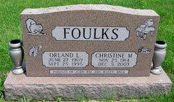 Christine Marie <i>Ford</i> Foulks
