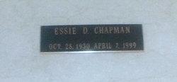 Essie <i>D.</i> Chapman