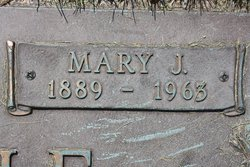 Mary Jane <i>Everhart</i> Icenogle