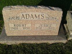 Jessie <i>Kiel</i> Adams