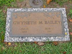 Gwyneth M Bailey