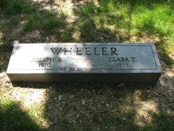 Clara T Wheeler