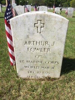 Corp Arthur John Fowler