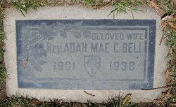 Rev Adah Mae <i>Caldwell</i> Bell