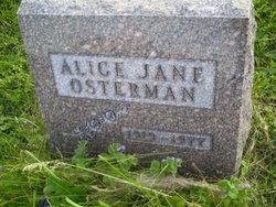 Alice Jane Osterman