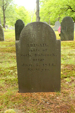 Abigail <i>Russell</i> Babcock