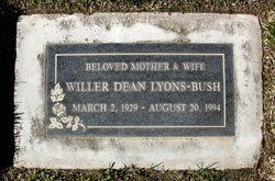 Willer Deans Lyons-Bush