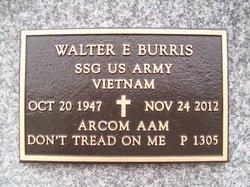 Sgt Walter Eugene Burris