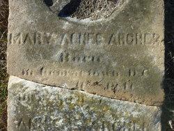 Mary Agnes <i>Kuhn</i> Archer