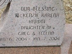 McKenzie Karena Hardin