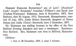 Herbert Resolved Ricketson