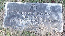 Pvt George Brown