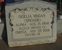 Ogelia <i>Spigner</i> Hogan