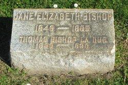 Jane Elizabeth <i>McCREERY</i> Bishop