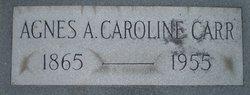 Agnes A. Caroline Carr