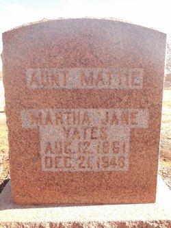Martha Jane Yates