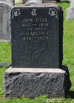Elizabeth F <i>Hunt</i> Titus