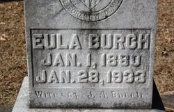Eula <i>Short</i> Burch